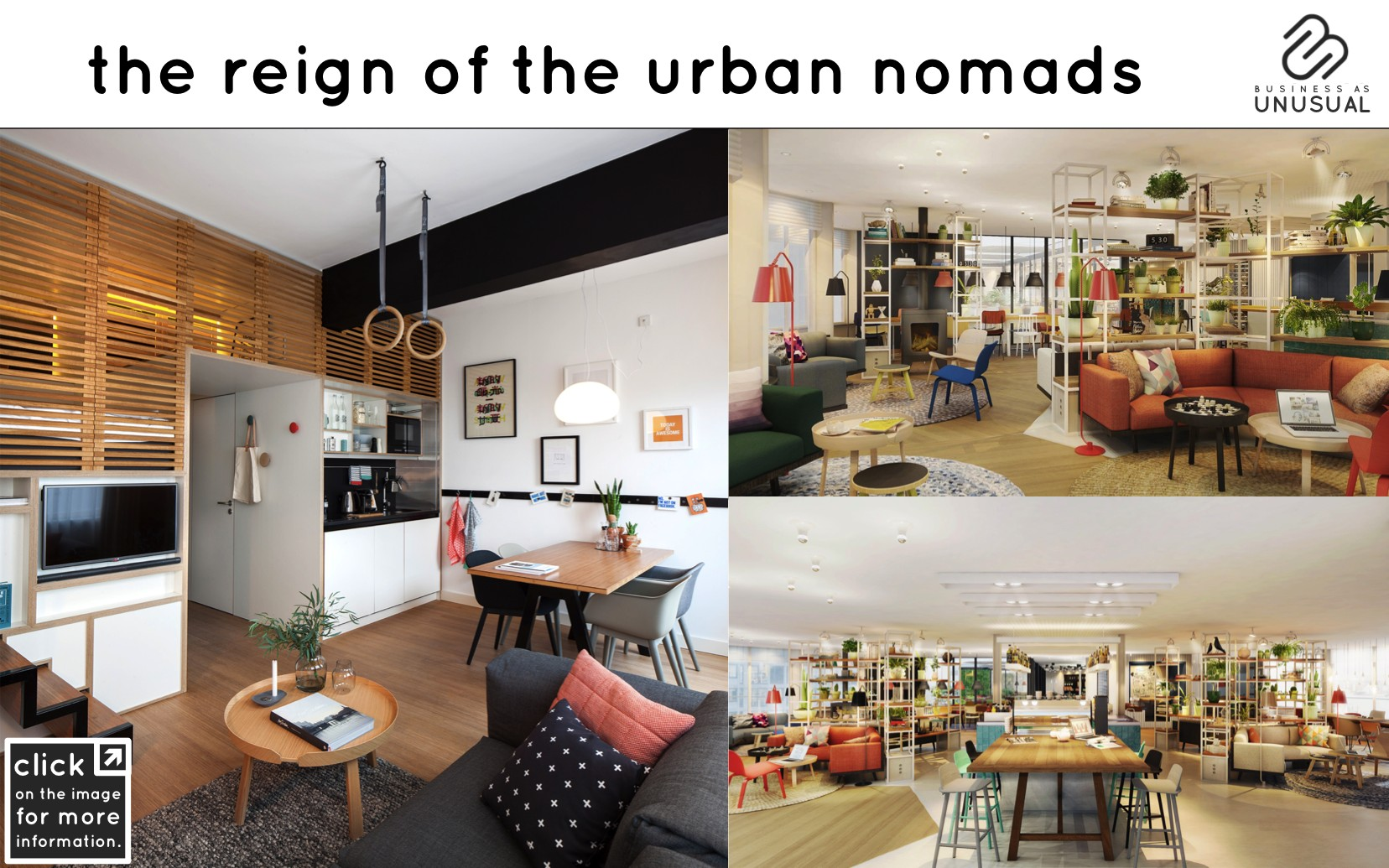 the reign of the urban nomads - zoku hotel