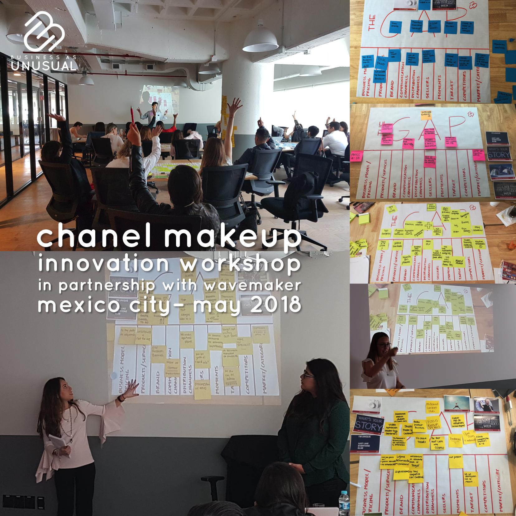 CHANEL MakeUp - Ideation, Innovation, Problem-Solving & Marketing Plan