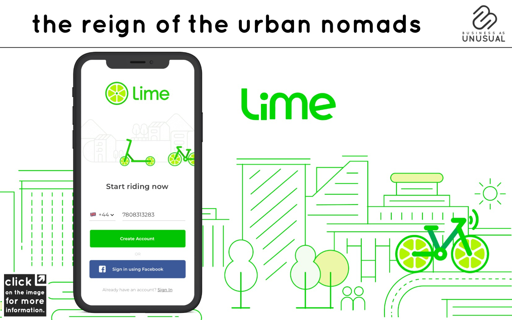 The Reign of the Urban Nomads - Lime