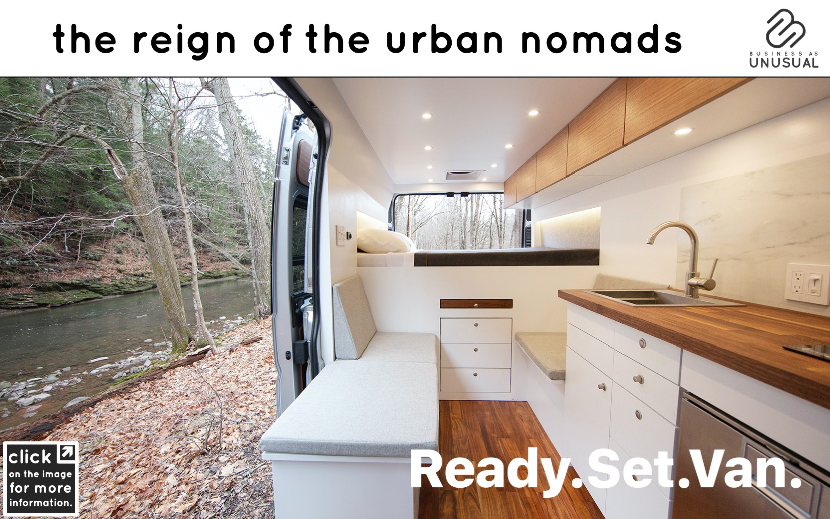 The Reign of the Urban Nomads - Ready Set Van
