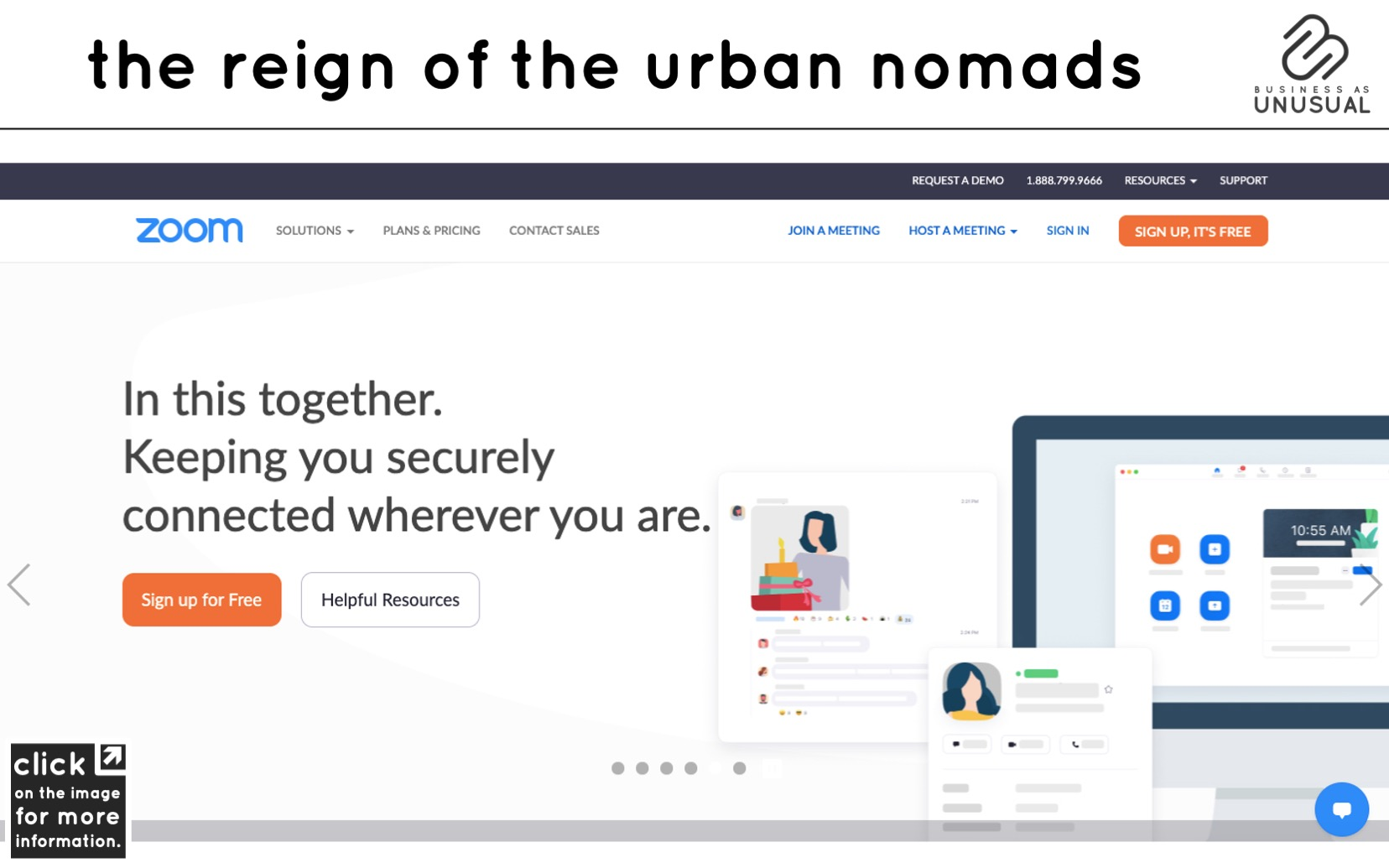 The Reign of the Urban Nomads - Zoom